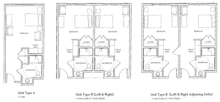Cedar View floor plan options